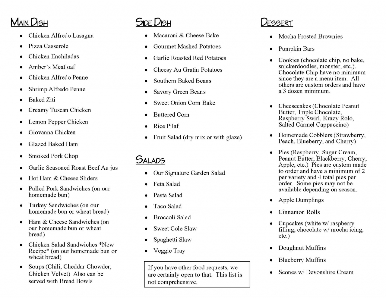 Catering - Page 2